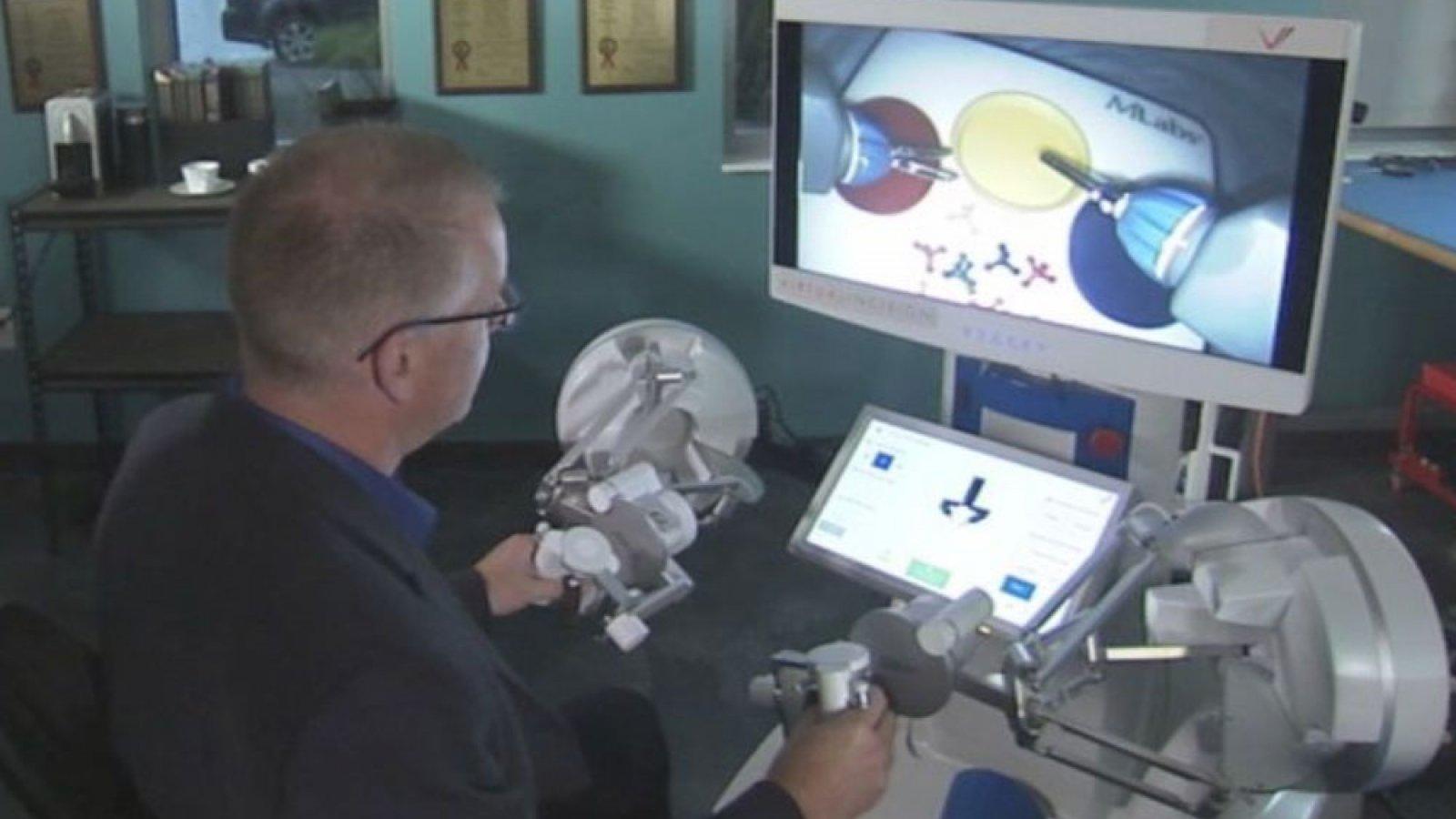 Virtual Incision is a startup at Nebraska Innovation Campus (University of Nebraska-Lincoln)