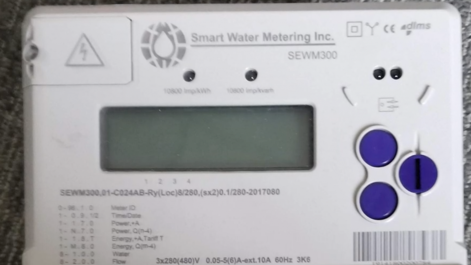 A Smart Water Metering device will allow farmers to retrieve, store and visualize water pump energy measurements without relying on cellular connections.