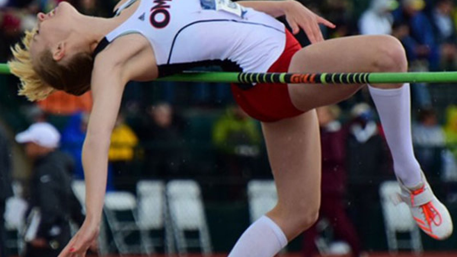 Stephanie Ahrens, an architectural engineering major in The Durham School at the University of Nebraska-Lincoln, became the first Division I track and field All-American for University of Nebraska Omaha by tying for eighth place in the high jump at the NCAA Outdoor Track and Field Championships in Eugene, Oregon.