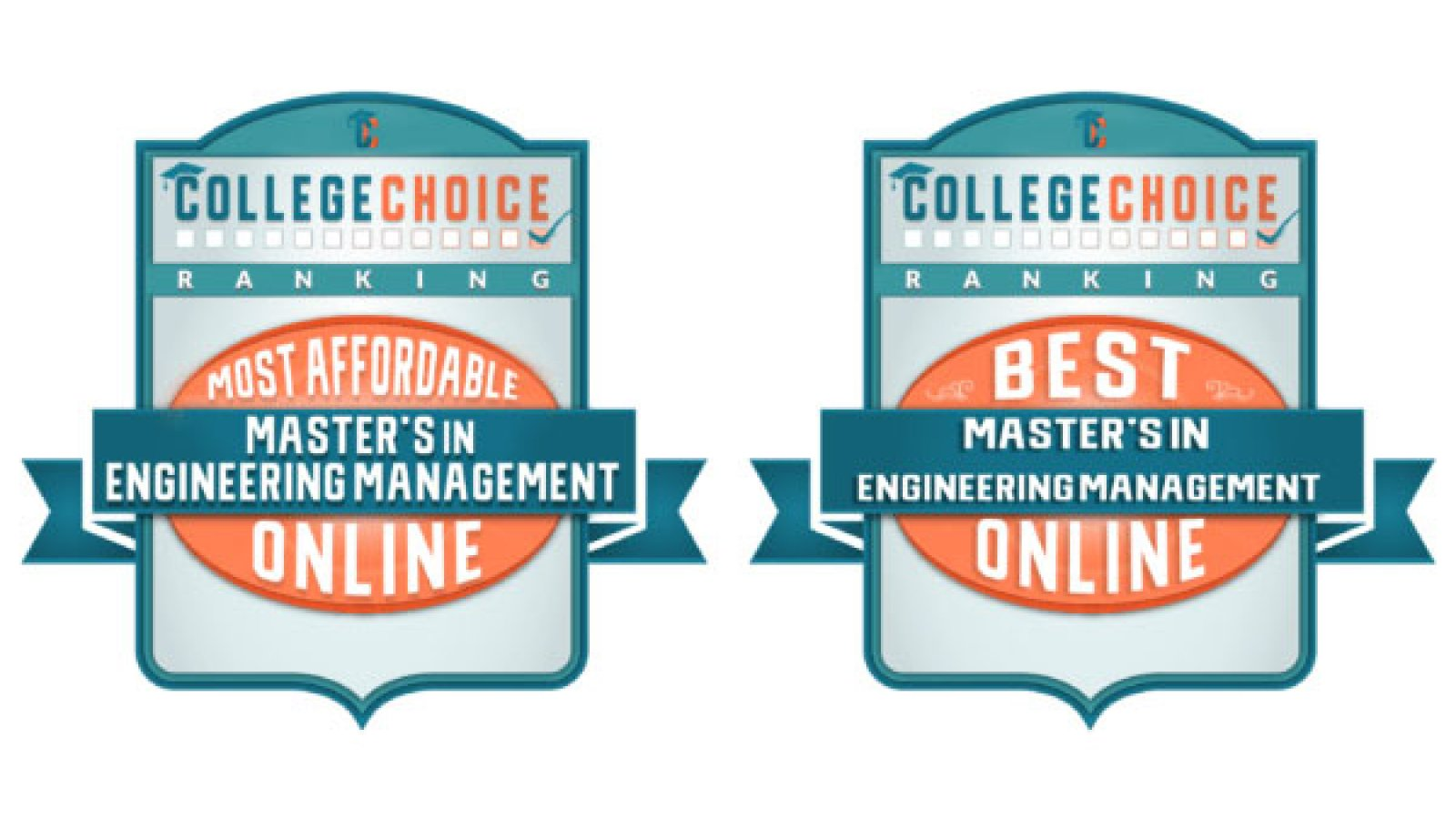 CollegeChoice.net has ranked Nebraska's Master of Engineering Management program in the top 20 in two categories.