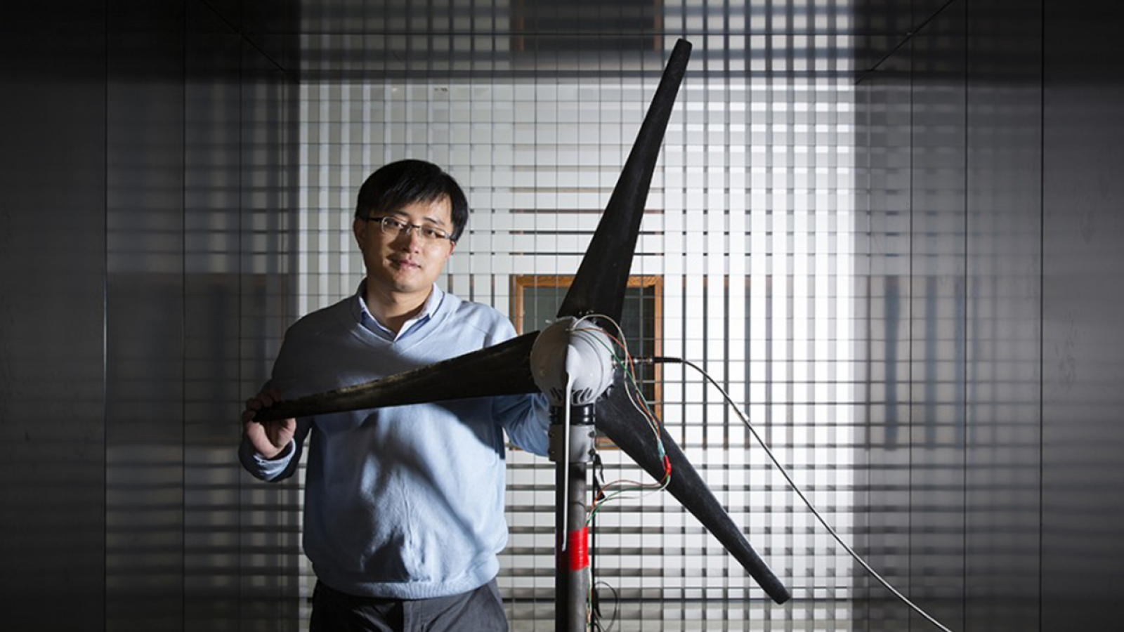 Wei Qiao, professor and graduate chair of electrical and computer engineering.
