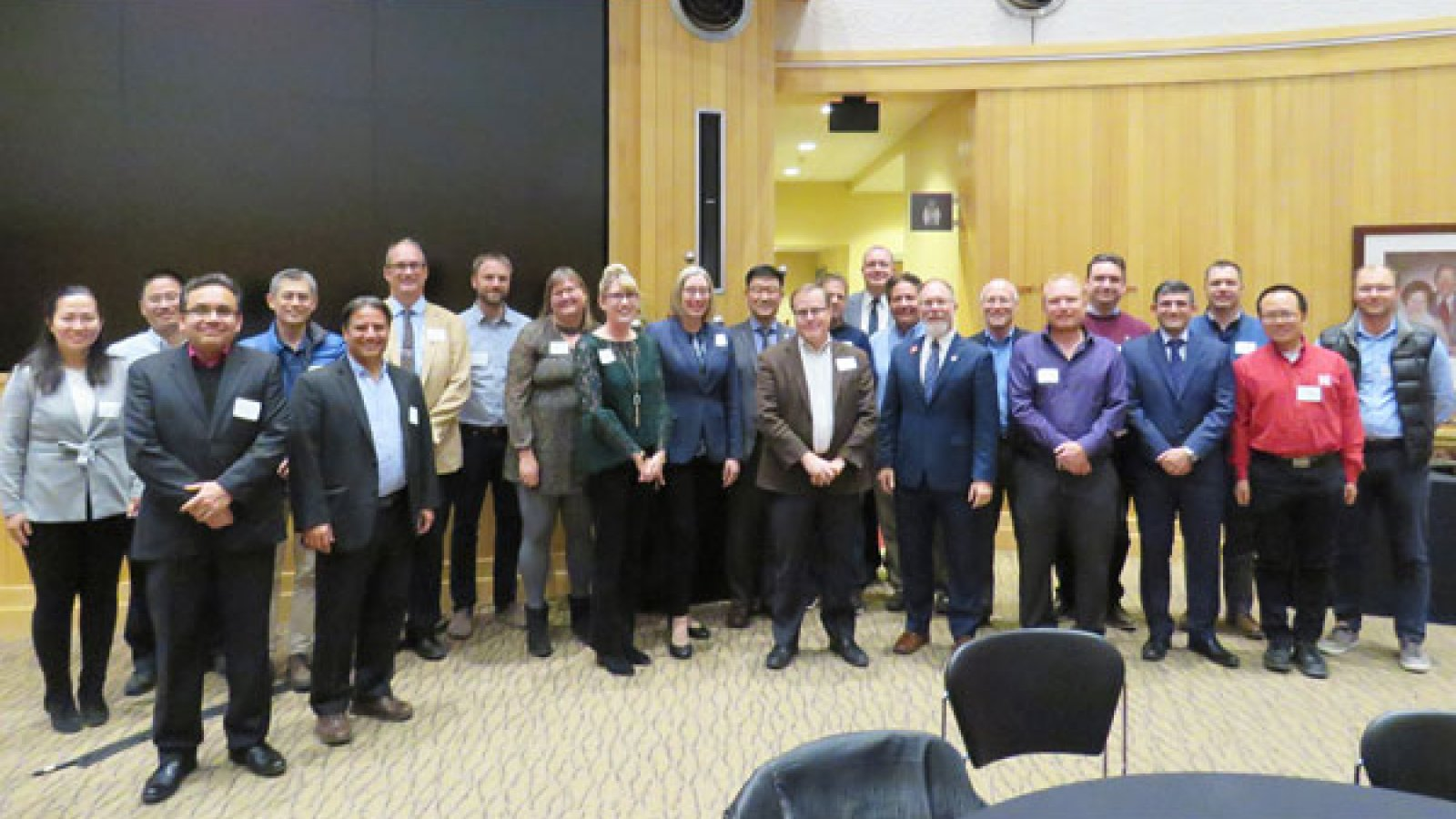 The College of Engineering honored 38 faculty for their good works during the 2018 Research Celebration, held Nov. 1 at the Van Brunt Center.
